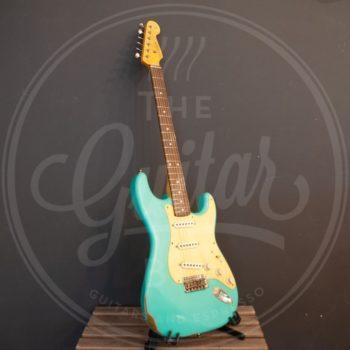 VC guitars Tonesurfer seafoam green
