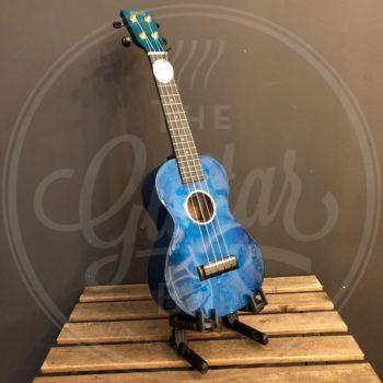 Mahalo concert ukulele transparant blue