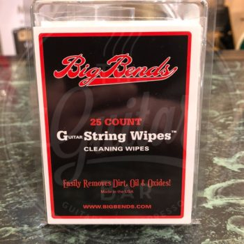 Big Bends Guitar String Wipes 25 Ct
