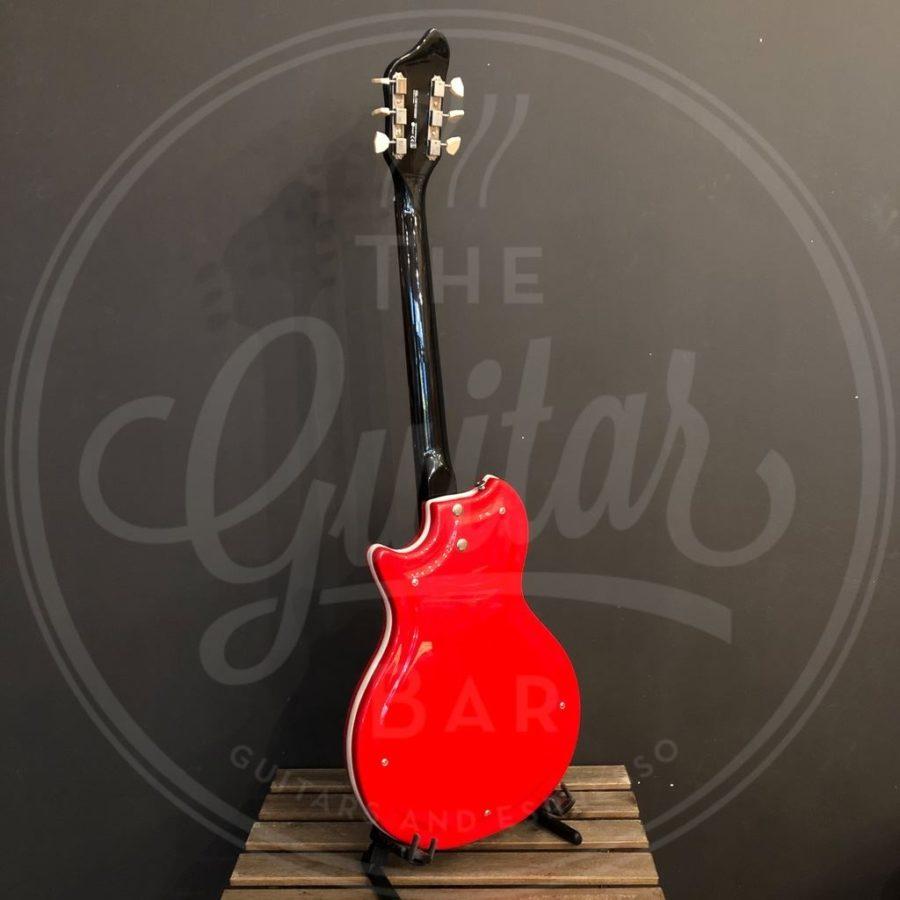 supro belmont vibrato poppy red