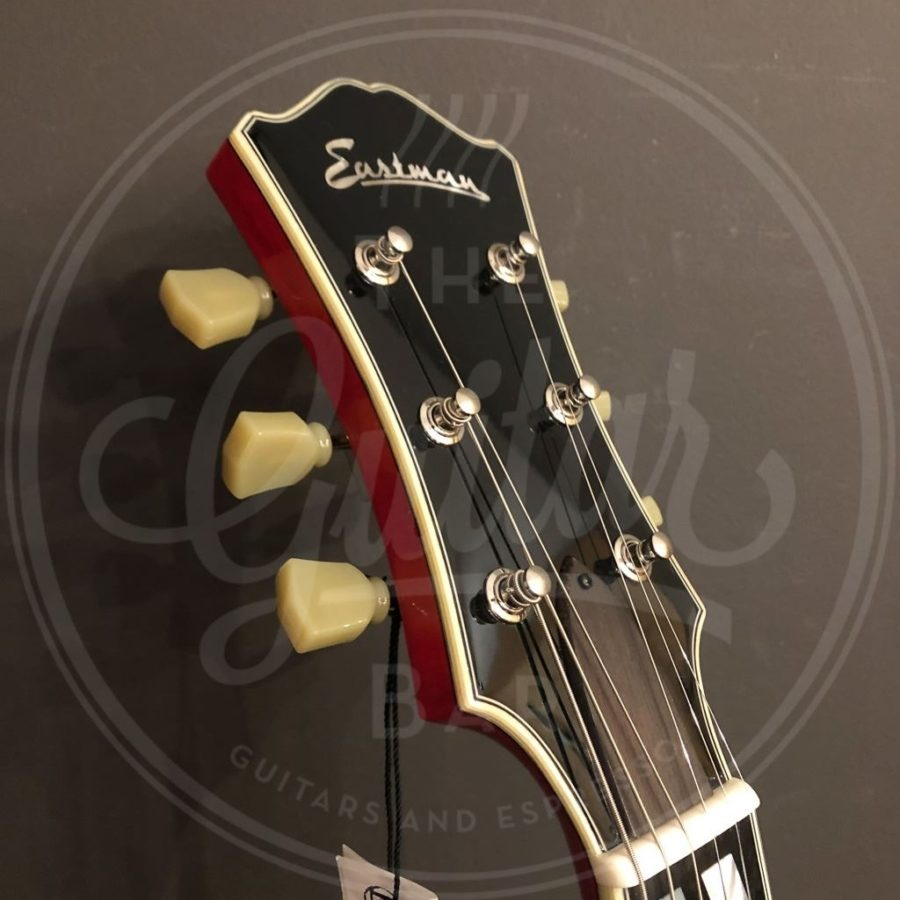 T486 Red Thinline Deluxe model with case