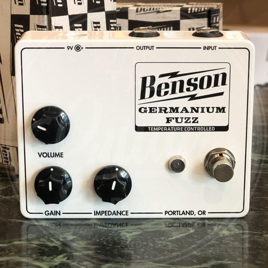 Benson Germanium Fuzz (Solar White)