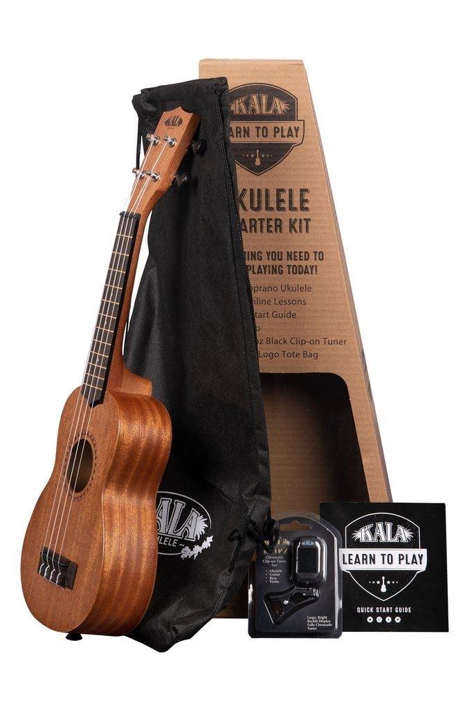 Kala Learn To Play Ukulele, Starter kit incl bag