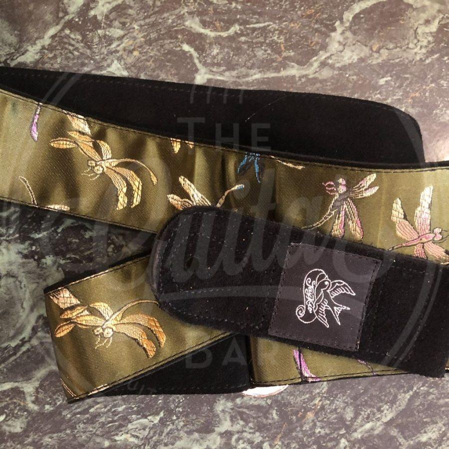 Jaykco Dragonflies on GREEN