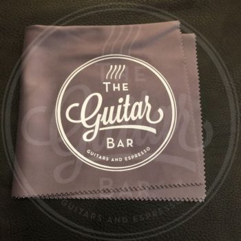 The Guitar Bar microfiber cleaning and polishing cloth