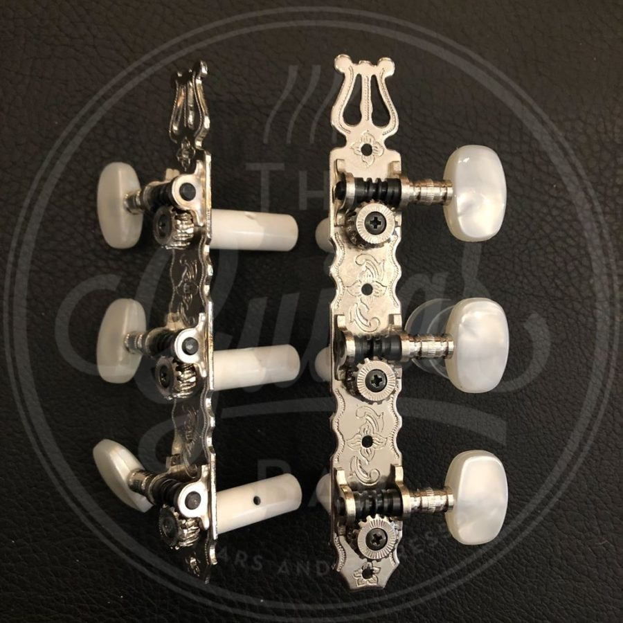 Boston machine heads classic guitar pearloid buttons