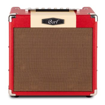 Cort E-Gitaarcombo, CM15R, Dark Red 15 watt