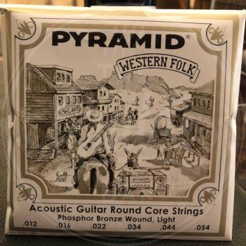 Pyramid steelstring acoustic guitar strings