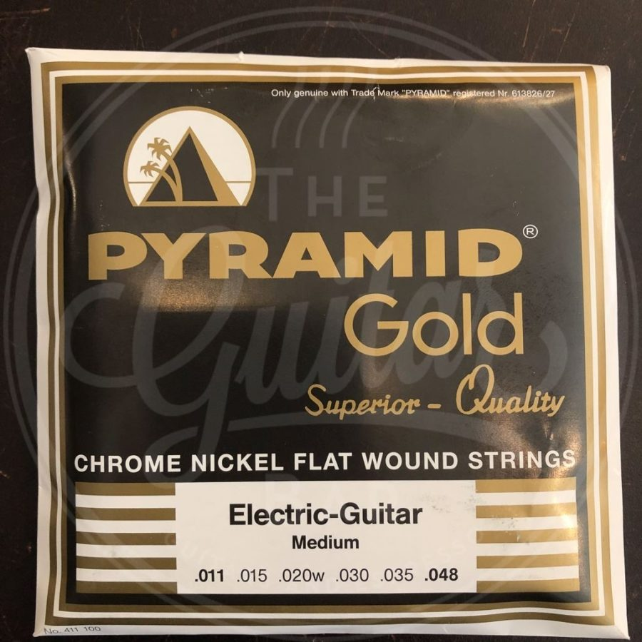 Pyramid gold flatwound 11/48