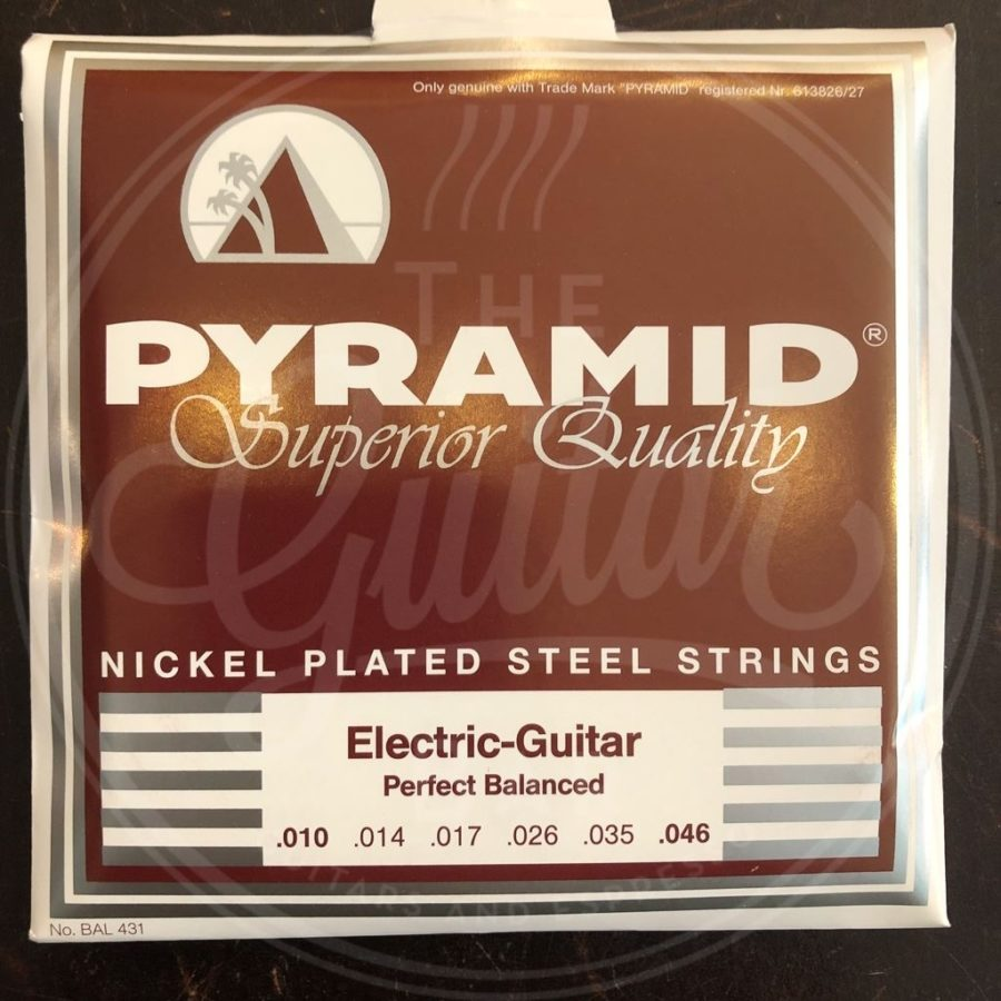 Pyramid Nickel plated steel 10-46
