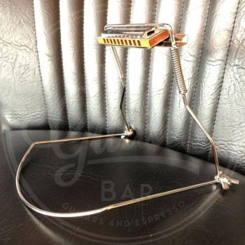 Tombo harmonica holder for 10-hole model