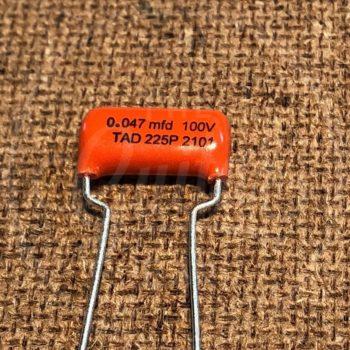 TAD Sprague Orange Drop 225P capacitor 0.047uF