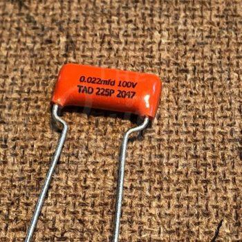TAD Sprague Orange Drop 225P capacitor 0.022uF