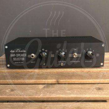 DeLisle Pedal - Amp Speaker Selector 4X4 deluxe
