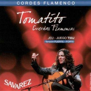 Savarez string set Tomatito signature, flamenco hard tension