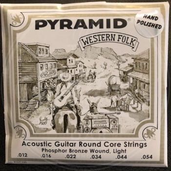 Pyramid acoustic roundcore hand polished