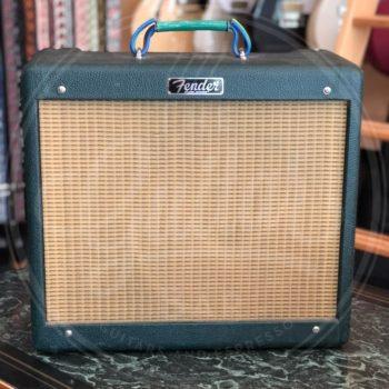 Fender Blues Junior FSR Emerald Green/Cannabis Rex