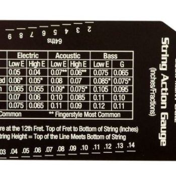 MUSIC NOMAD Precision String Action Gauge - MN602