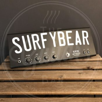 SurfyBear Pedal Metal Black (V1.2) w/ SurfyPan
