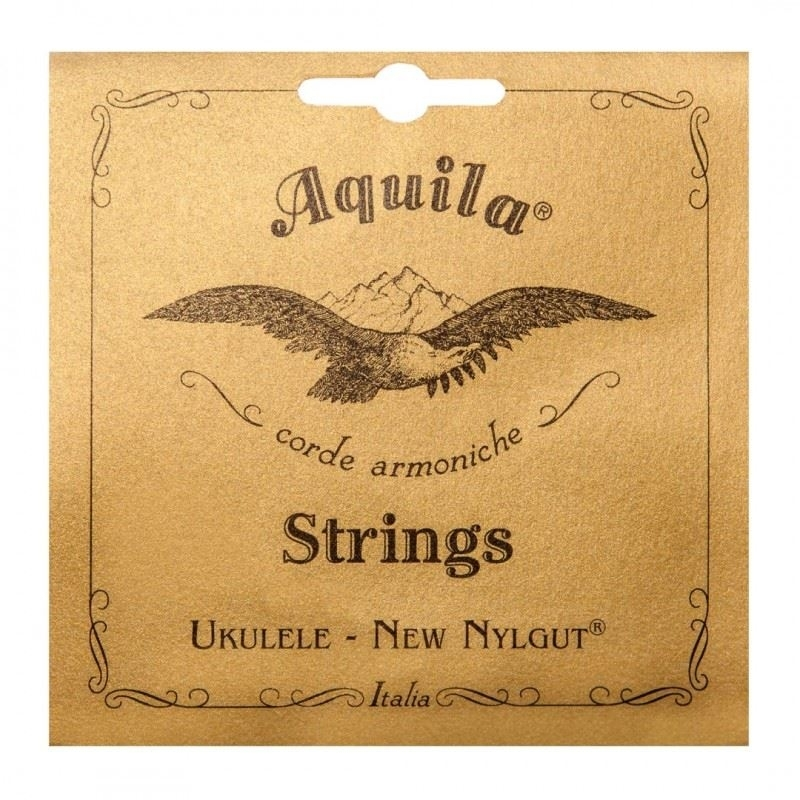 Aquila Nylgut tenor ukulele string set, regular tuning, G-C-E-A
