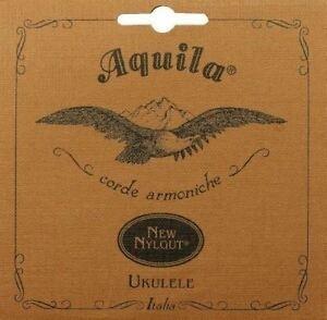 Aquila Nylgut soprano ukulele string set, regular tuning, G-C-E-A