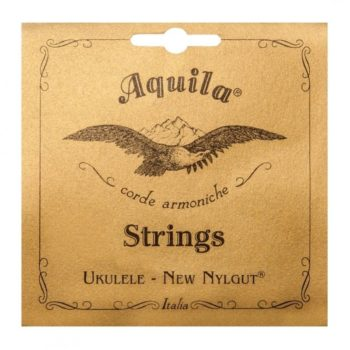 Aquila Nylgut concert ukulele string set, regular tuning, G-C-E-A