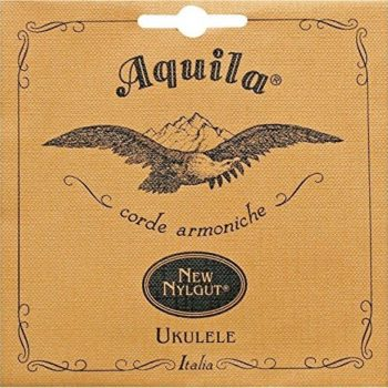 Aquila Nylgut baritone ukulele string set, low D-tuning, D-G-B-E (wnd D & G)