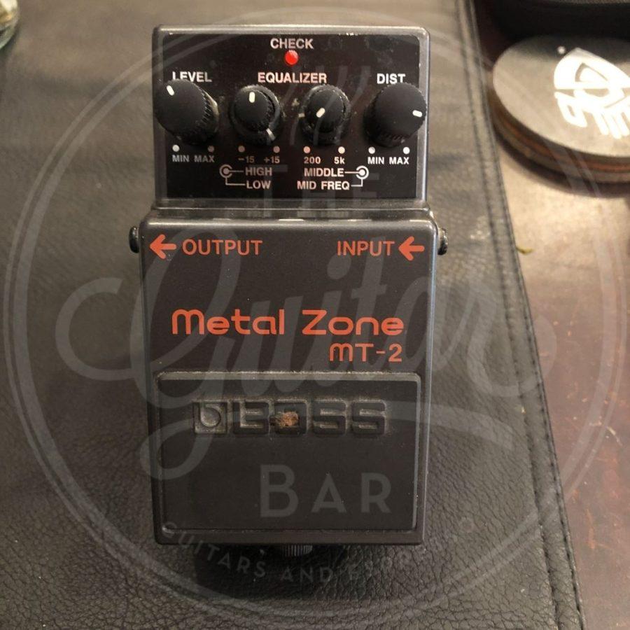 Boss MT-2 Metal Zone doosje/handleiding