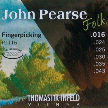 Thomastik John Pearse Signature string set folk, E.B.G. nylon flatwound