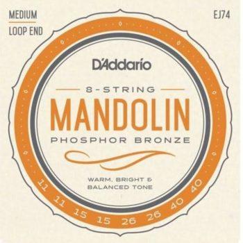 D'Addario mandoline snaren medium