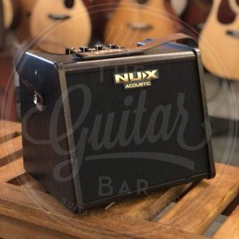 NUX rechargeable battery acoustic guitar amplifier