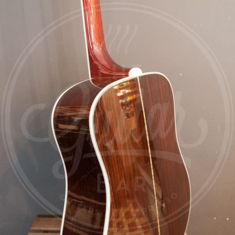 Guild D-55 dn all solid spuce/ind rosewood nat gloss hardcase